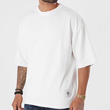 2Y Premium - Tee Shirt Oversize SW6049 Blanc Cassé