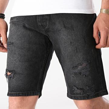 2Y Premium - Short Jean Slim K5303 Noir