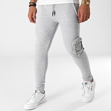 Brave Soul - Pantalon Jogging Houdini Gris Chiné