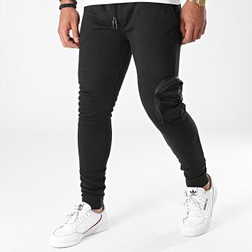 Brave Soul - Pantalon Jogging 516 Houdini Noir