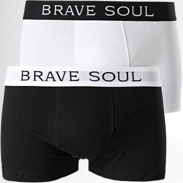 Brave Soul - Lot De 2 Boxers 18Brook Blanc Noir