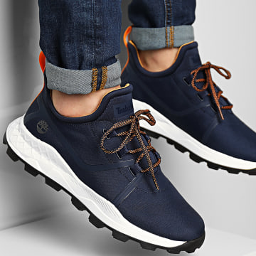 Timberland - Baskets Brooklyn Oxford A2QSW Navy Mesh