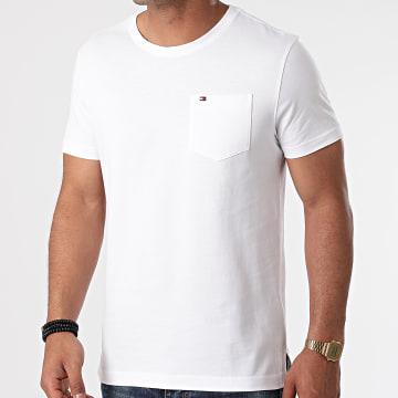 Tommy Hilfiger - Tee Shirt Poche Classic Pocket 9230 Blanc