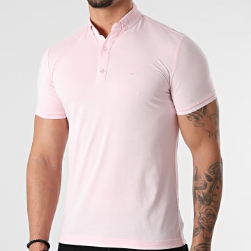Classic Series - Polo Manches Courtes 21Y-1100 Rose