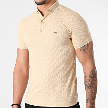 Classic Series - Polo Manches Courtes 21Y-1079 Beige