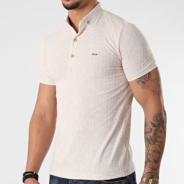 Classic Series - Polo Manches Courtes 21Y-1079 Beige Clair