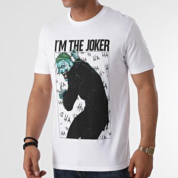 DC Comics - Tee Shirt Im The Joker Blanc