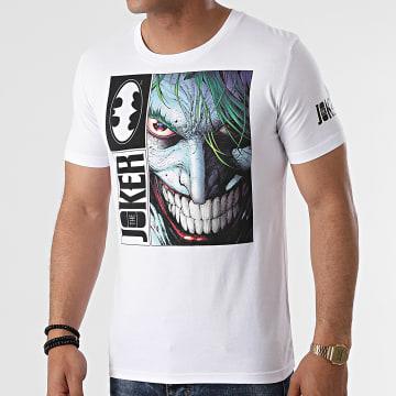 DC Comics - Tee Shirt Joker Blanc