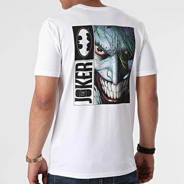 DC Comics - Tee Shirt Joker Back Blanc