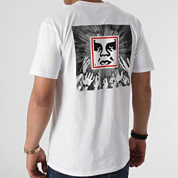 Obey - Tee Shirt Obey Idol Worship Blanc