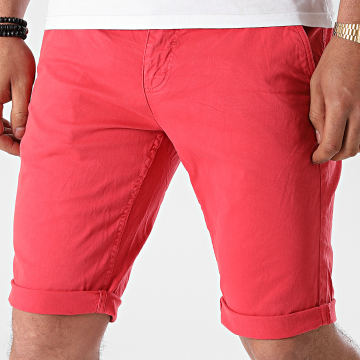Paname Brothers - Short Chino Skinny Bary Rouge