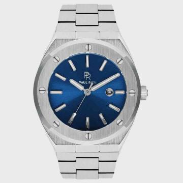 Paul Rich - Montre Baron's Aluminium Bleu