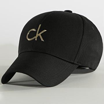 Calvin Klein - Casquette Femme Re-Lock BB 8211 Noir