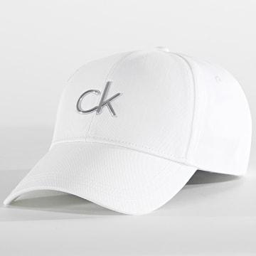 Calvin Klein - Casquette Femme BB 8211 Blanc
