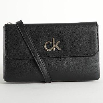 Calvin Klein - Sac A Main Femme Re-Lock 8177 Noir