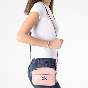 Calvin Klein - Sac A Main Femme Camera Bag 8287 Rose