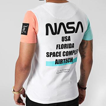 Final Club - Tee Shirt Nasa Space Limited Edition Pastel 707 Blanc