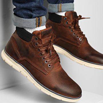 Jack And Jones - Chaussures Tubar Nubuck Honey 12195513 Brandy Brown
