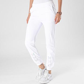Project X Paris - Pantalon Jogging Femme F214098 Blanc