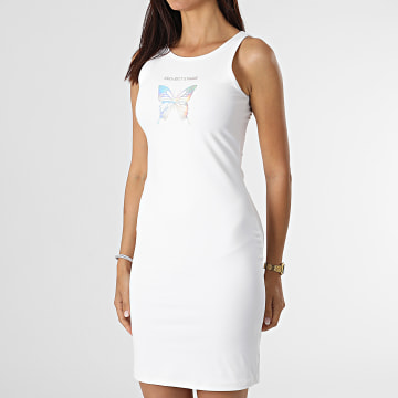 Project X Paris - Robe Femme F217056 Blanc