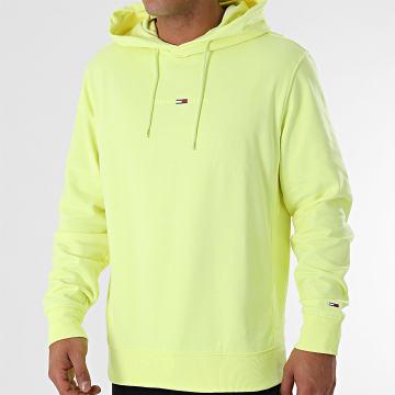 Tommy Jeans - Sweat Capuche Gel Straight Logo 0703 Jaune