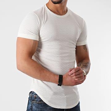 Uniplay - Tee Shirt Oversize UY642 Blanc Cassé