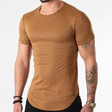 Uniplay - Tee Shirt Oversize UY642 Camel