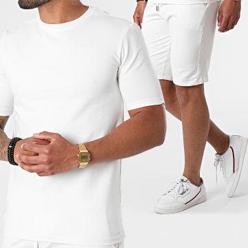 Uniplay - Tee Shirt EHL-8 Blanc Cassé