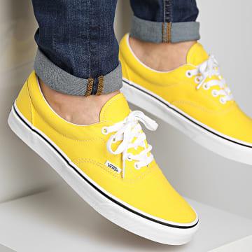 Vans - Baskets Era 4F1CA1 Cyber Yellow True White