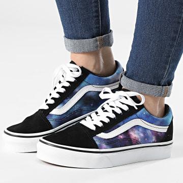 Vans - Baskets Femme Old Skool WKTG4F Galaxy Black True White