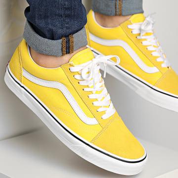 Vans - Baskets Old Skool WKTCA1 Cyber Yellow True White