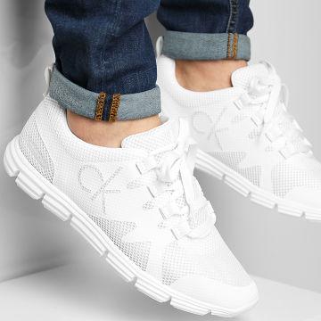 Calvin Klein - Baskets Runner Sneaker Lace Up 0086 Full Bright White