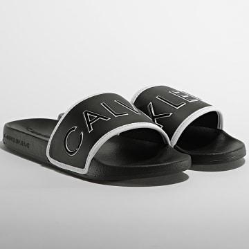 Calvin Klein - Claquettes Slide Padded 0073 Black