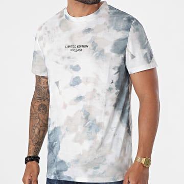 Sixth June - Tee Shirt M22201VTS Blanc Beige Vert Kaki