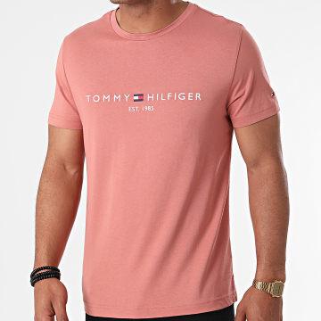 Tommy Hilfiger - Tee Shirt Tommy Logo 1797 Rose