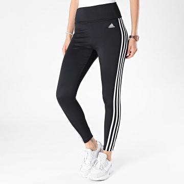 Adidas Performance - Legging Femme 3 Stripes 78 TIG GL4040 Noir