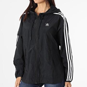 Adidas Originals - Coupe-Vent Femme A Capuche GN2780 Noir