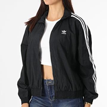 Adidas Originals - Veste Zippée Femme A Bandes Japona GN2928 Noir