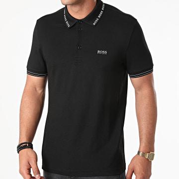 BOSS - Polo Manches Courtes Paule 50452509 Noir