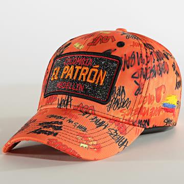 Classic Series - Casquette El Patron Print Orange