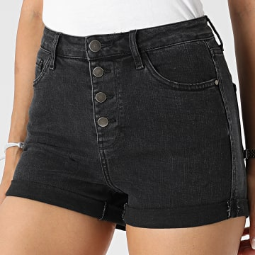 Girls Outfit - Short Jean Femme JD311DN Gris Anthracite
