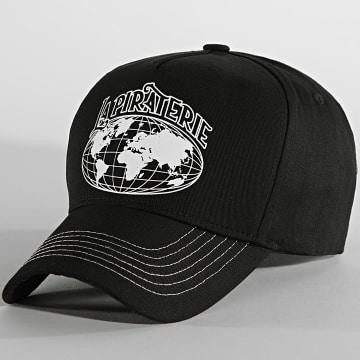 La Piraterie - Casquette Globe Noir