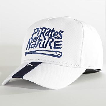 La Piraterie - Casquette Pirates By Nature Blanc