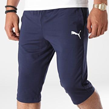 Puma - Short Jogging Liga Training 3/4 655315 Bleu Marine