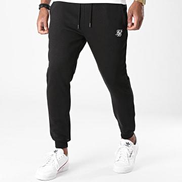 SikSilk - Pantalon Jogging Muscle Fit 18899 Noir