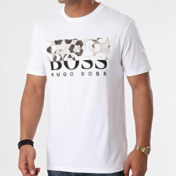 BOSS - Tee Shirt Teally 50453672 Blanc