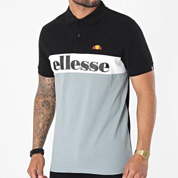 Ellesse - Polo Manches Courtes Rio SHF09091 Noir Gris