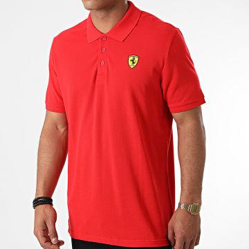 Ferrari - Polo Manches Courtes Classic 130181063 Rouge