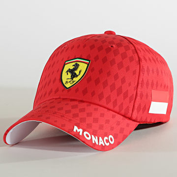Ferrari - Casquette Monaco 130101065 Rouge