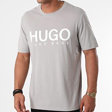 HUGO - Tee Shirt Dolive 213 50454191 Gris Clair